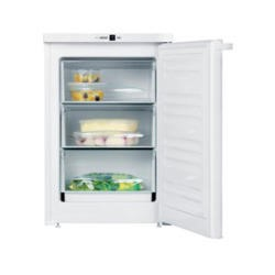 GRADE A3 - Heavy cosmetic damage - Miele F12011S-1 55cm Wide Under Counter Freestanding Freezer - White
