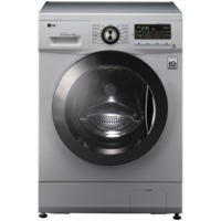 LG F1296TDA5 6 Motion Direct Drive 8kg 1200rpm Silver Freestanding Washing Machine