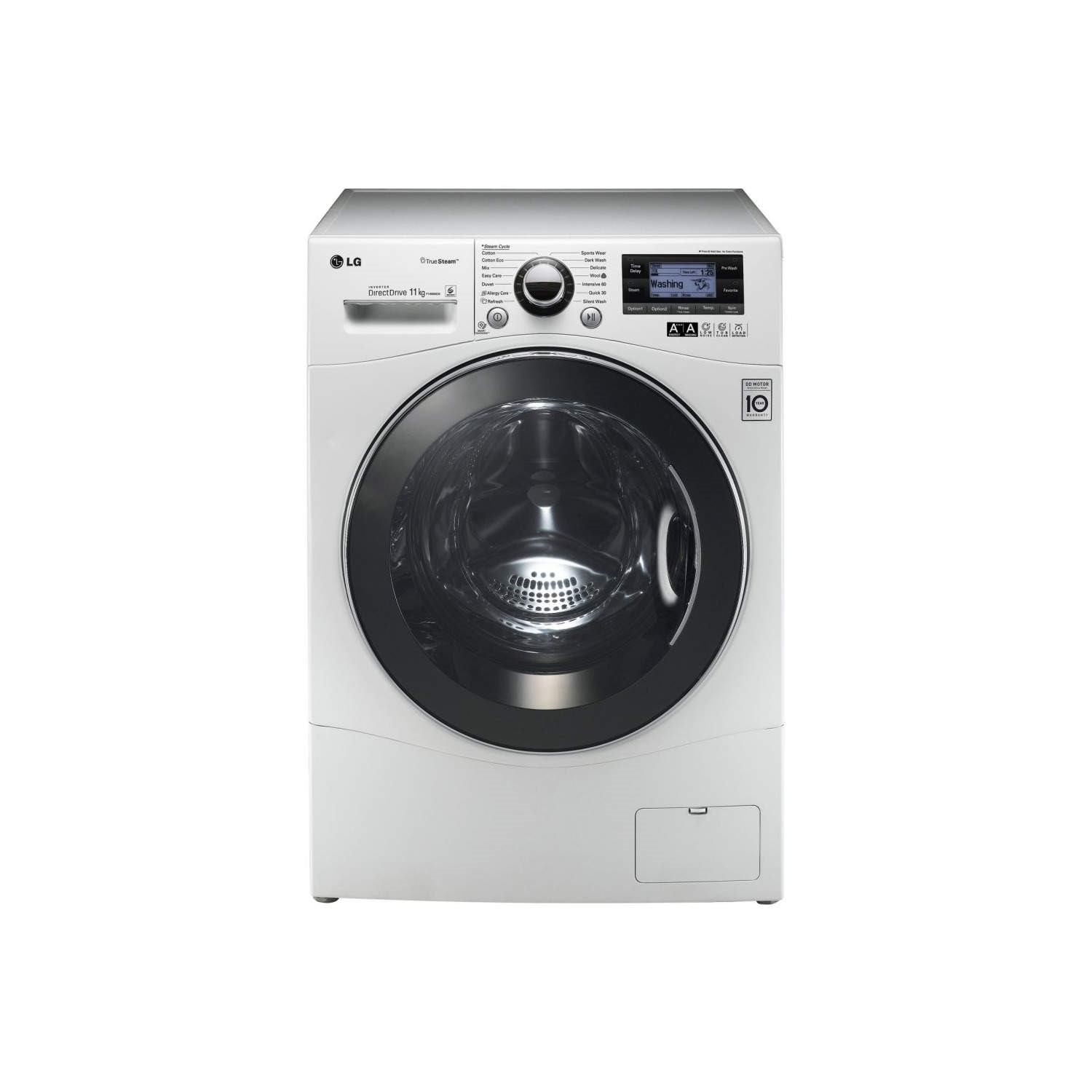 lg washing machine steam washer