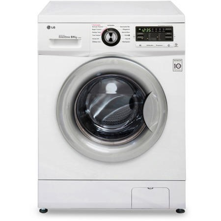 LG F1496AD1 Direct Drive 8kg Wash 4kg Dry 1400rpm Freestanding Washer Dryer White