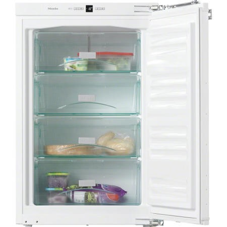 Miele F32202i 56cm Wide Integrated Upright In-Column Freezer - White