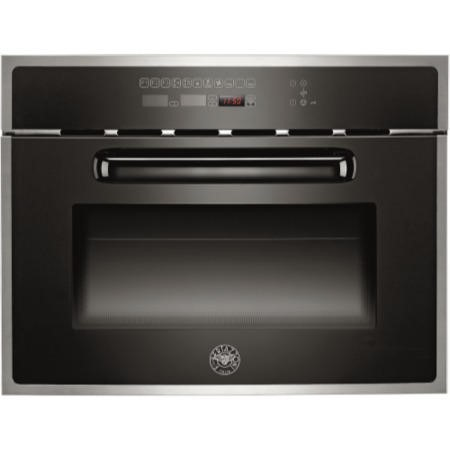 Bertazzoni F45-CON-MOW-X Design Series Built-in Combination Microwave Oven-Stainless Steel