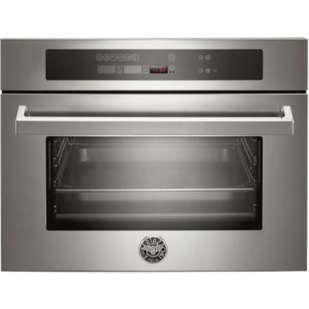 Bertazzoni F45-PRO-CST-X Professional Series Compact Height Steam Oven-Stainless Steel