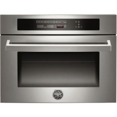 Bertazzoni F45-PRO-MOW-X Professional Built-in Combination Microwave Oven Stainless Steel