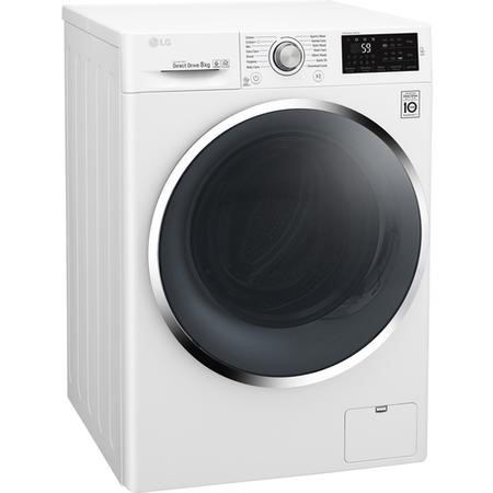 LG F4J6TN2W DirectDrive Smart 8kg 1400rpm Freestanding Washing Machine-White