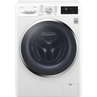 LG F4J6VY2W 9kg Washing Machine With Steam Technology And Smart ThinQ Connectivity - White