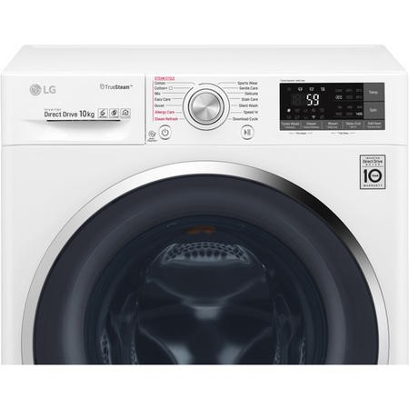 LG F4J8JS2W DirectDrive 10kg 1400rpm Freestanding Washing Machine-White