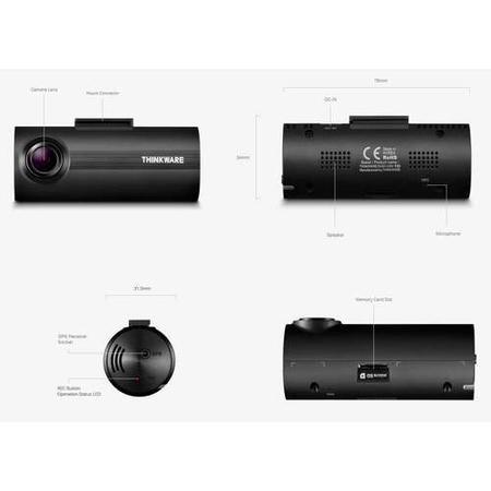 Thinkware F50 Full HD Dash Cam with 8GB SD Card