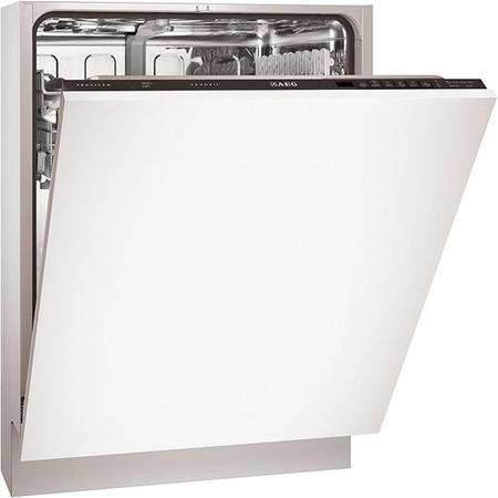 aeg f55002vi0p sensorlogic proclean fully integrated dishwasher appliances direct. Black Bedroom Furniture Sets. Home Design Ideas