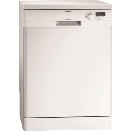 aeg f55020w0p proclean xxl freestanding dishwasher white appliances direct. Black Bedroom Furniture Sets. Home Design Ideas