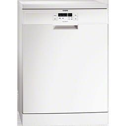 AEG F56302W0 13 place Freestanding Dishwasher in White