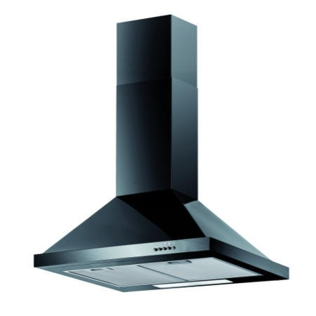Baumatic F60.2BL 60cm Chimney Cooker Hood Black