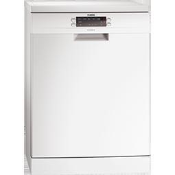 AEG F66609W0P White 13 Place Freestanding Dishwasher