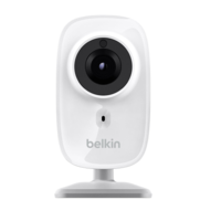 Belkin NetCam Indoor Fixed HD Wireless-N Network IP Camera with Night Vision