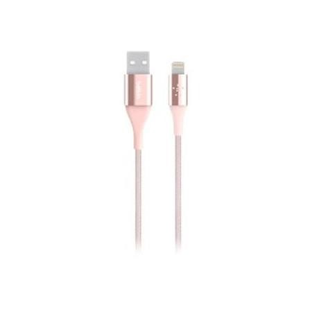 Belkin Premium Lightning to USB Cable with Kevlar Material 2.4Amp 1.2M Rose Gold