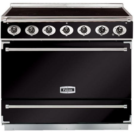 Falcon 90000 - 900S Dividable Single Oven 90cm Electric Range Cooker - Black And Chrome