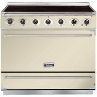 Falcon 90020 - 900S Dividable Single Oven 90cm Electric Range Cooker - Cream And Chrome