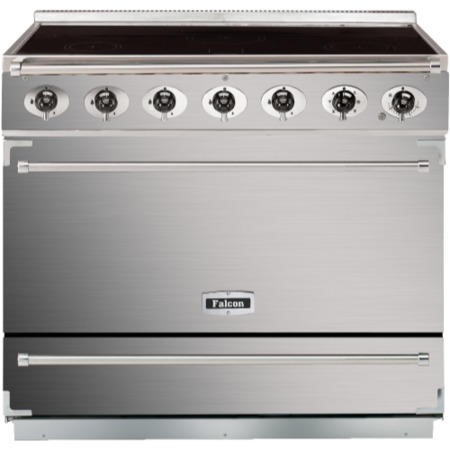 Falcon 89990 - 900S Dividable Single Oven 90cm Electric Range Cooker - Stainless Steel And Chrome