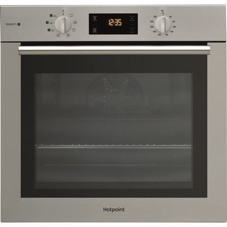 Hotpoint FA4S544IXH 71 Litre Built-in Multifunction Steam Oven - Stainless Steel