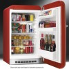 Smeg FAB10HLR 55cm Wide Retro Style Left Hinge Freestanding Larder Fridge - Red