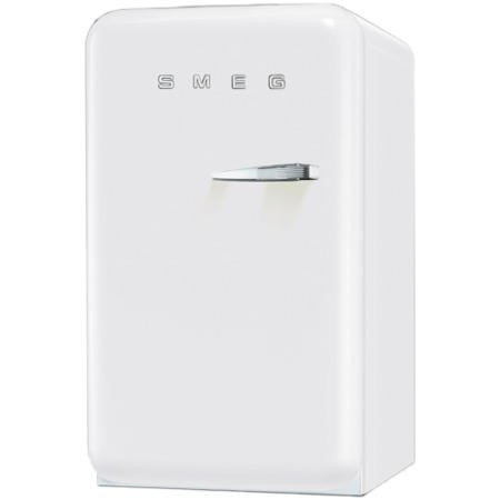 Smeg FAB10LB 55cm Wide Retro Style Left Hinge Freestanding Fridge - White