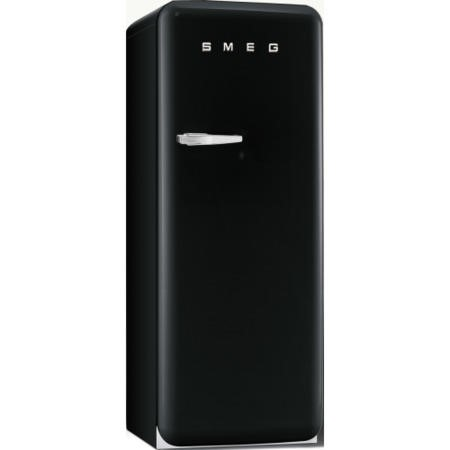 Smeg FAB28QNE1 60cm Wide Retro Style Right Hinge Freestanding Fridge - Black