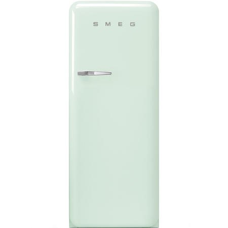 Smeg FAB28RPG3UK Fifities Style Right Hand Hinge Freestanding Fridge With Ice Box - Pastel Green