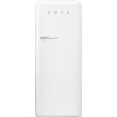 Smeg FAB28RWH3UK Fifities Style Right Hand Hinge Freestanding Fridge With Ice Box - White