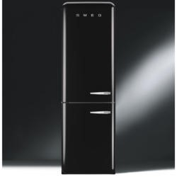 Smeg FAB32LNN Fifties Style Frost Free Left Hand Hinge Freestanding Fridge Freezer Black