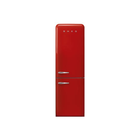 Smeg FAB32RRD3UK Fifties Style Frost Free Right Hand Hinge Freestanding Fridge Freezer - Red