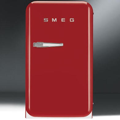 FAB5RR1 Smeg FAB5RR1 40cm 50s Style Red Right Hand Hinged Minibar