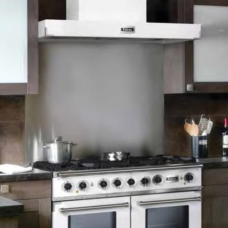 Falcon 74950 - 109.2cm Splashback - Stainless Steel