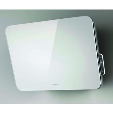 elica 80cm vertical decorative cooker hood white