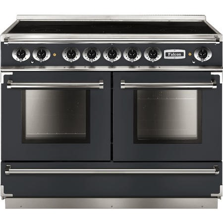 Falcon 10233 Continental 110cm Electric Range Cooker With Induction Hob - Slate