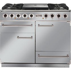 Falcon 81080 - 1092 - 110cm Dual Fuel Range Cooker - Stainless Steel Chrome