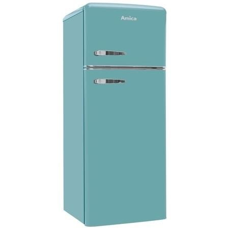 Amica 208 Litre 80/20 Freestanding Fridge Freezer - Blue