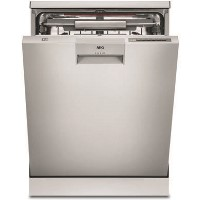 AEG ComfortLift® FFE63806PM 13 Place Freestanding Dishwasher - Stainless Steel Best Price, Cheapest Prices