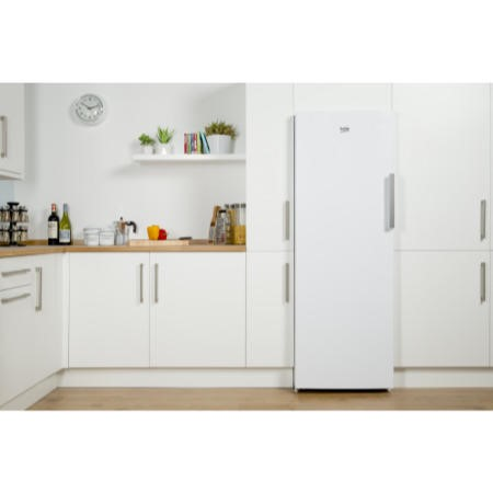 Beko FFP1671W 60cm Wide Frost Free Freestanding Upright Freezer - White