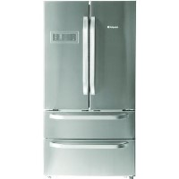 GRADE A2 - Hotpoint FFUXL4D 542L A+ American Fridge Freezer - Stainless Steel Best Price, Cheapest Prices