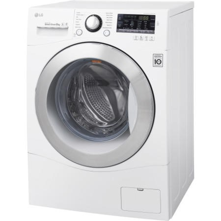 LG FH2A8TDN2 Direct Drive 8kg 1200rpm Freestanding Washing Machine White