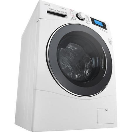 LG FH495BDS2 Direct Drive 12kg 1400rpm Freestanding Washing Machine With Steam White