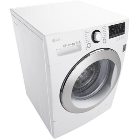 LG FH4A8TDN2 Direct Drive 8kg 1400rpm Freestanding Washing Machine - White