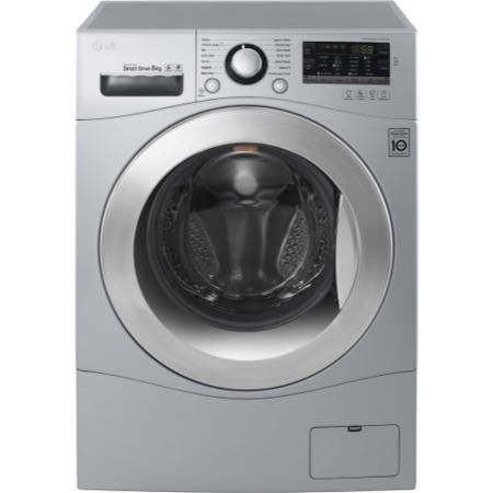LG FH4A8TDN4 Direct Drive 8kg 1400rpm Freestanding Washing Machine Silver