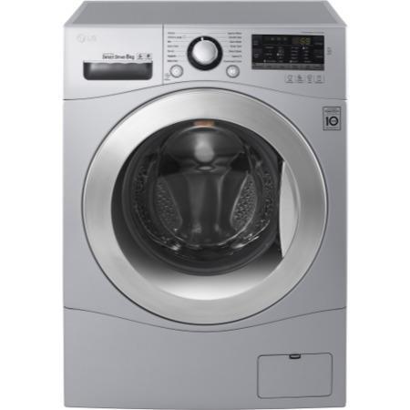 lg fh4a8tdn4 direct drive 8kg 1400rpm freestanding washing machine silver appliances direct. Black Bedroom Furniture Sets. Home Design Ideas