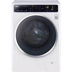 LG FH4U1JBH2N Direct Drive 10kg Wash 7kg Dry Freestanding Washer Dryer - White