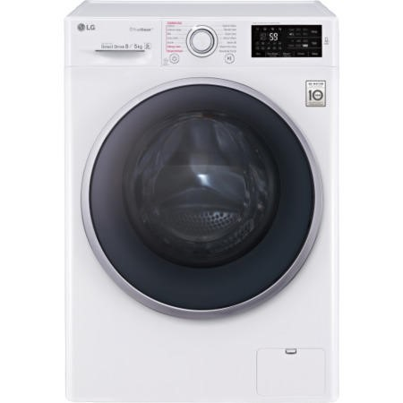 GRADE A2 - LG FH4U2TDH1N Direct Drive 8kg Wash 5kg Dry 1400rpm Freestanding Washer Dryer White