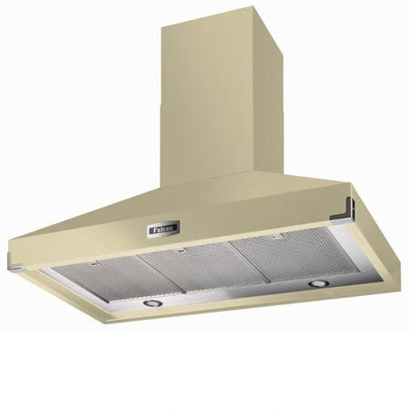 Falcon FHDSE1092CRB 90840 1092 SuperExtract 110cm Chimney Cooker Hood Cream And Brass