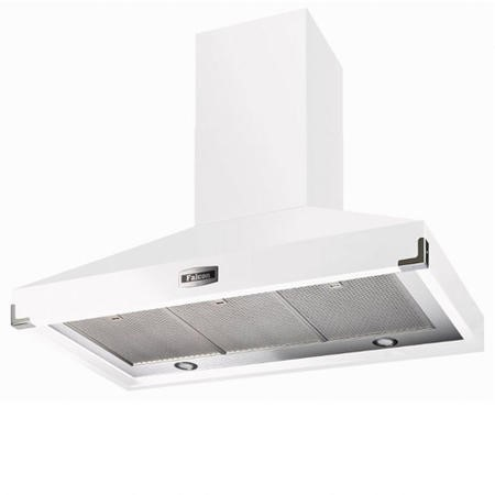 Falcon FHDSE1092WHN 90890 1092 SuperExtract 110cm Chimney Cooker Hood White And Nickel