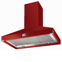 Falcon FHDSE900RDN 90740 900 SuperExtract Chimney Cooker Hood Cherry Red And Nickel