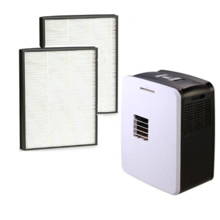 HEPA 2 Filter pack for AIRCUBE and AIRCUBE-MAX